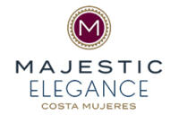 Logo Majestic Elegance Costa Mujeres Cancun Mexico